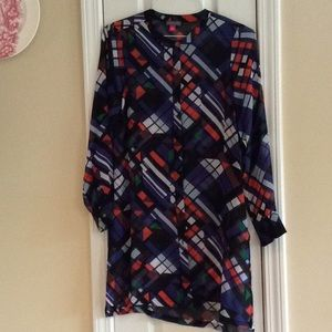 Vince Camuto Front Buttoned Tunic
